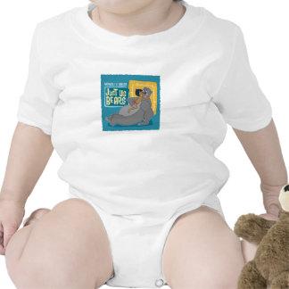 Apenas nosotros osos Mowgli y Baloo Disney Traje De Bebé