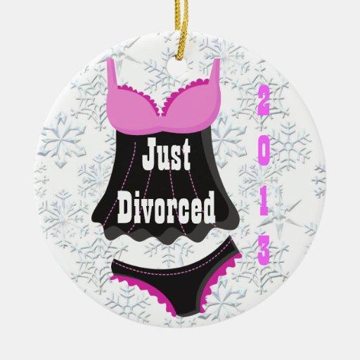Apenas ornamento divorciado del navidad de la ropa ornamente de reyes
