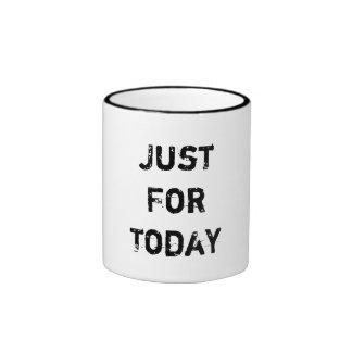 Apenas para hoy taza de dos colores