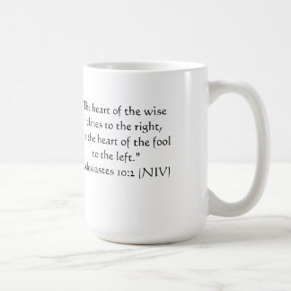 Apenas para la diversión:  v. correcto dejado taza de café