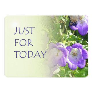 """Apenas para las flores de Bell del hoy Invitación 6.5"""" X 8.75"""""""