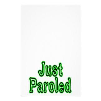 Apenas Paroled Personalized Stationery
