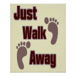Apenas paseo ausente poster