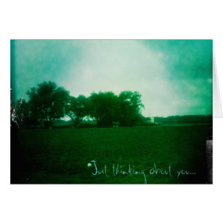Apenas pensando en usted… tarjeta pequeña