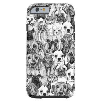 apenas perros funda resistente iPhone 6