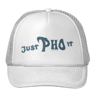 Apenas Pho él gorra