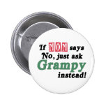 Apenas pida Grampy Pin Redondo 5 Cm