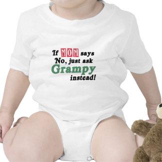 Apenas pida Grampy Traje De Bebé