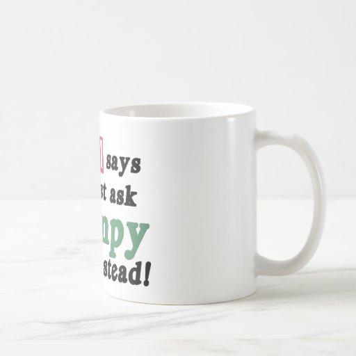 Apenas pida Grampy Taza De Café
