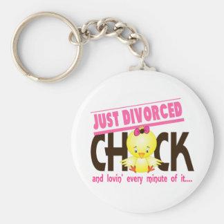 Apenas polluelo divorciado llavero