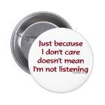 Apenas porque no cuido el botón pins