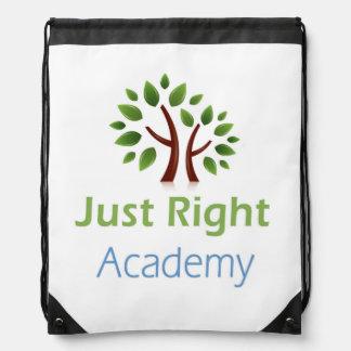Apenas productos derechos del logotipo de la mochilas