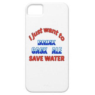 Apenas quiero beber el agua de la reserva de la funda para iPhone 5 barely there