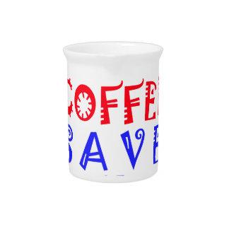 Apenas quiero beber el café jarra