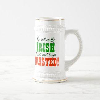 Apenas quiero conseguir perdido tazas de café