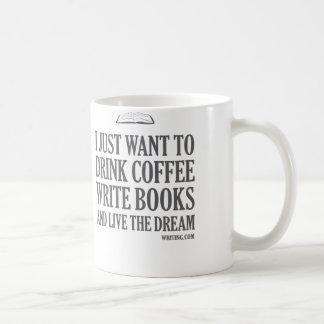 Apenas quiero… taza básica blanca