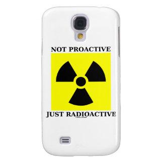 Apenas radiactivo no dinámico (señal de peligro) funda para galaxy s4