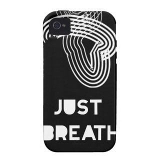Apenas respiración Case-Mate iPhone 4 carcasa