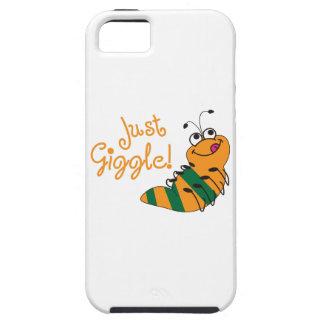 Apenas risita iPhone 5 Case-Mate carcasas
