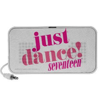 Apenas rosa de la danza iPhone altavoces