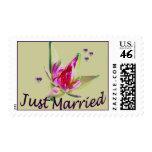 """""""Apenas"""" sellos florales asiáticos casados"""