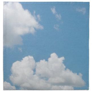 Apenas servilleta 2 de las nubes