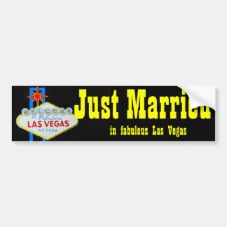 Apenas signo positivo casado de Las Vegas Pegatina Para Auto