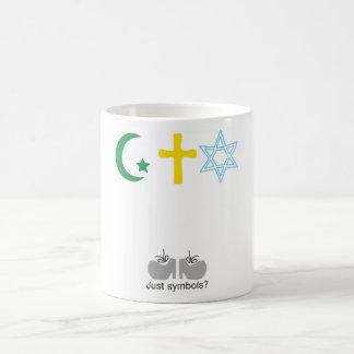 ¿Apenas símbolos Tazas De Café