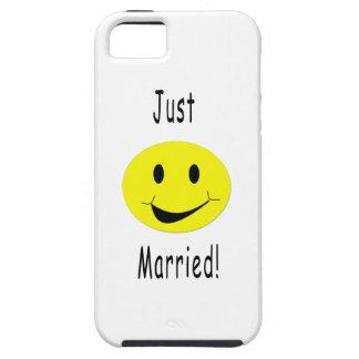 Apenas smiley casado iPhone 5 funda