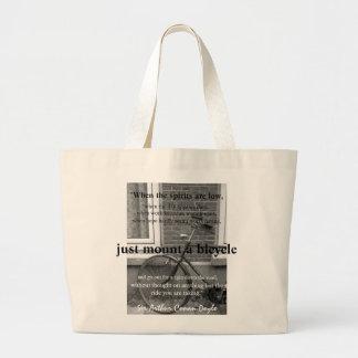 """""""Apenas soporte bolso de una bicicleta"""" Bolsas"""