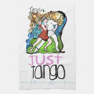 Apenas tango hecho en la Argentina Toallas