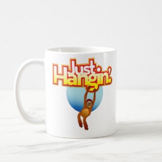 Apenas taza del orangután de Hangin