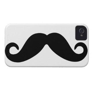 Apenas un bigote iPhone 4 Case-Mate protector