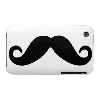 Apenas un caso del iPhone del bigote Case-Mate iPhone 3 Coberturas