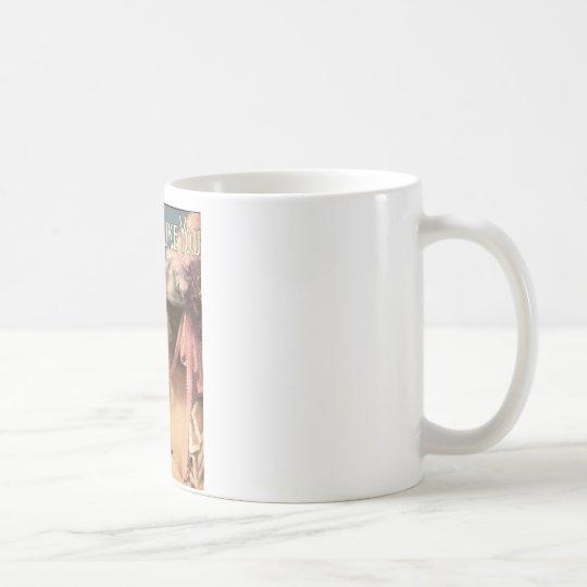 apenas un chica tiene gusto de usted taza de café
