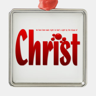 Apenas un descenso - 5:9 de los romanos adorno de navidad