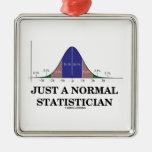 Apenas un estadístico normal (humor de la curva de ornamentos de navidad