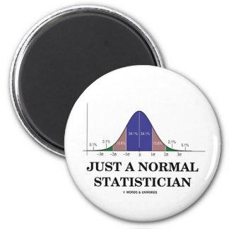 Apenas un estadístico normal (humor de la curva de imán redondo 5 cm