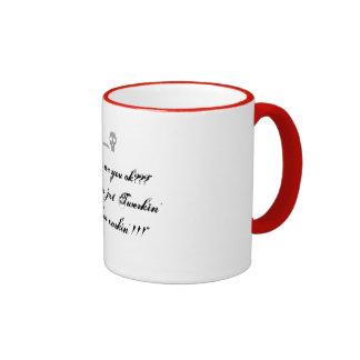 """Apenas un humor de la pequeña oficina… """"Twerkin'""""  Taza De Café"""