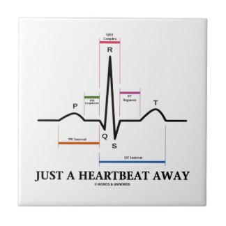 Apenas un latido del corazón lejos (humor de EKG/E Azulejo Ceramica