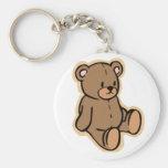 Apenas un oso de peluche llaveros personalizados