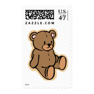 Apenas un oso de peluche timbres postales
