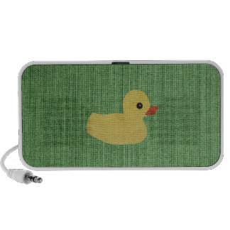 Apenas un pato iPhone altavoces