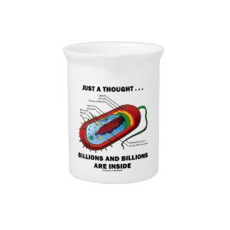 Apenas un pensamiento… Mil millones y mil millones Jarras Para Bebida