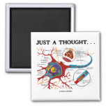 Apenas un pensamiento… (Neurona/sinapsis) Iman Para Frigorífico