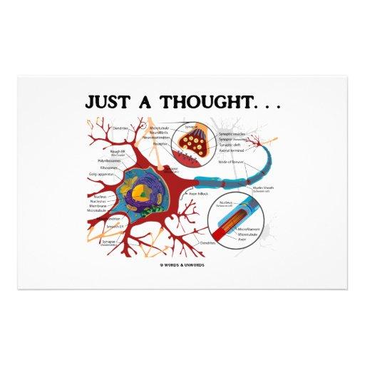 Apenas un pensamiento… (Neurona/sinapsis) Papeleria
