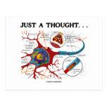 Apenas un pensamiento… (Neurona/sinapsis) Tarjetas Postales