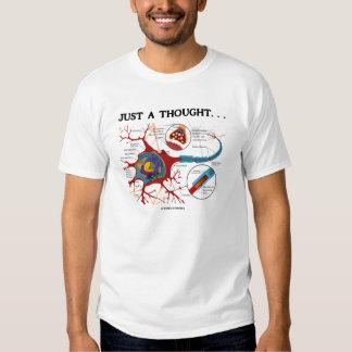 Apenas un pensamiento (sinapsis) playeras
