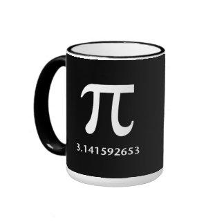 Apenas un pi blanco nada más, 3,14 taza de dos colores
