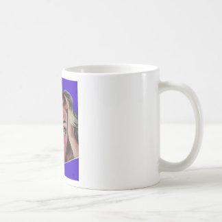 Apenas un poco subrayada taza